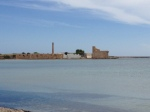 Ancient tuna processing plant and Swabian tower, Vendicari