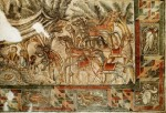 Scenes of daily life, Villa Tellaro, 4th century BCE, mosaic