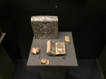 Quran case from 19th century Yemen, small Qurans, and an amulet case from 16th century Iran