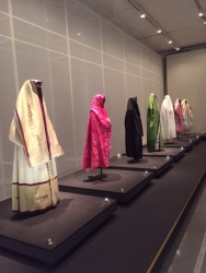 These dresses are from Afghanistan, Iran, and Iraq from the 19th-20th centuries.  They look so much like the traditional Muslim shadow.