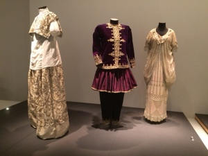 Wedding attire from Turkey, Iraq, and Uzbekistan, 19th century