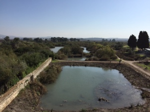 Not far from the coastal city of Haifa is this nature reserve with natural springs.