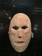 Does it seem like this mask is staring back at you?