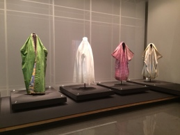 Much of this exhibit focused on modesty in dress, a common theme in Muslim and Jewish traditions.