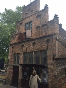The cost to the Netherlands during World War II was in loss of life rather than loss of property with the exception of Rotterdam which was leveled by bombs. This building was built in 1445.