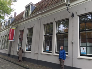 Piet Mondrian's home, a very interesting place to learn about this artist's life. Most of his art is in museums around the world.