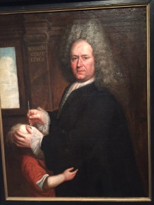 How about this portrait of the eye surgeon? Hope his hair doesn't fall into the victim's (patient's) eye.