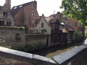 These houses really make you feel as though you've gone back in a time machine to about the 1300s.