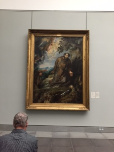 "Rubens, ""St. Francis of Assisi"". For those of you who have looked at Rubens work this gives you an idea of the scale of his work."