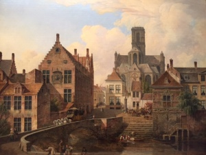 View of Ghent, Pieter Dommerson, 19th century