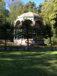 Next stop was the Museum of Fine Arts in the Citadelpark, a beautiful oasis in the middle of the newer city otherwise a fairly nondescript place. This gazebo looks like it's probably the site for summer concerts and gatherings.