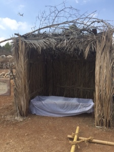 People also sleep in their sukkah.
