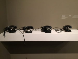 Janet Cardiff and George Bures Miller, Installation: telephones and audio recordings