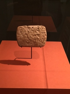 Law: Administrative account inscribed with cuneiform, ca. 3000 BCE