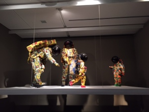 "The Future:  ""Vacation"", Yinka Shonibare, 2000, installation"