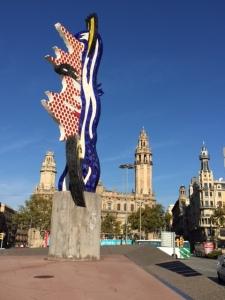 """Roy Lichtenstein, """"The Head of Barcelona"""", 1991"""
