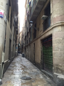 We are inside the area that would have been the Jewish quarter. The streets are the narrowest in the city, only wide enough for a cart and horse to fit. When a community is confined they make the most of the space they have.
