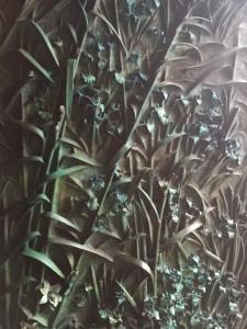 Detail of entry door.