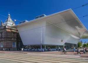 The new facade of the Stedelijk Museum