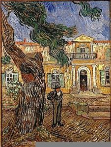 "van Gogh, ""Hospital in St. Remy"", 1889"