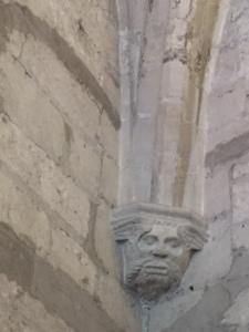 gargoyle in situ