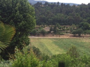 """This view from town looks like what you might imagine as the inspiration for """"A Year in Provence"""""""
