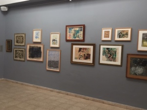 A special exhibit of prints and drawings by Israeli impressionists.