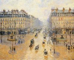 """Pissarro, """"Avenue de l'Opera, Snow Effect"""", 1898"""