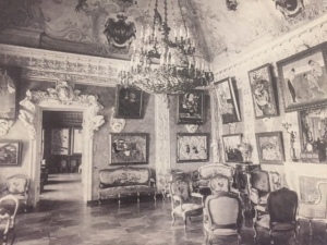 Photo of one of the rooms showing the collection as it was in Moscow.