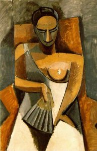 "Picasso, ""Woman with a Fan"", 1909"