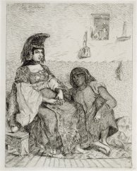 jewishwomantangiersetching1833